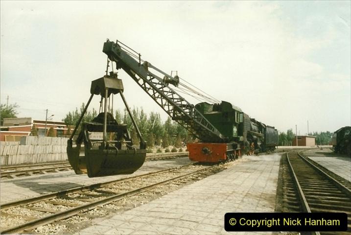 Pakistan and China 1996 June. (227) Shizhuishan China Rail Depot. 227