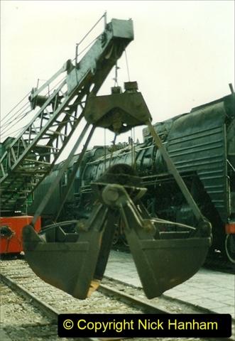 Pakistan and China 1996 June. (228) Shizhuishan China Rail Depot. 228