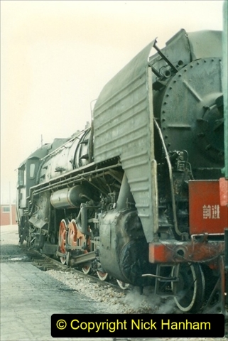 Pakistan and China 1996 June. (231) Shizhuishan China Rail Depot. 231