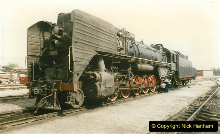 Pakistan and China 1996 June. (232) Shizhuishan China Rail Depot. 232
