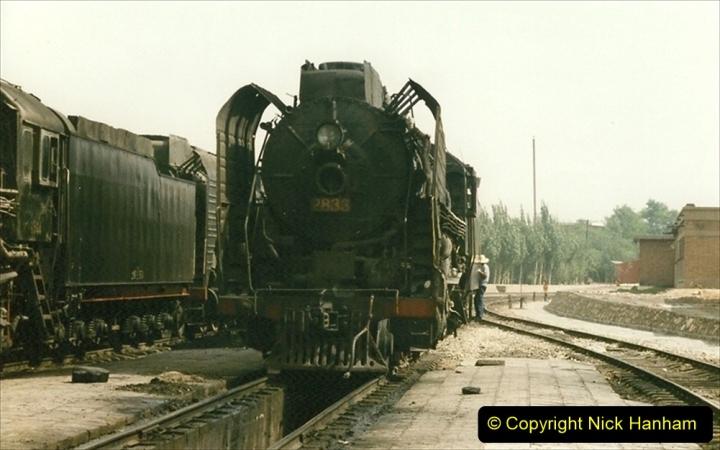 Pakistan and China 1996 June. (233) Shizhuishan China Rail Depot. 233