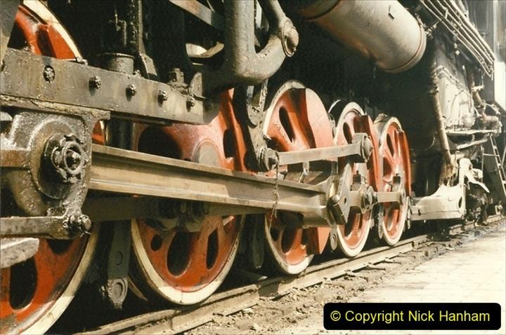 Pakistan and China 1996 June. (236) Shizhuishan China Rail Depot. 236