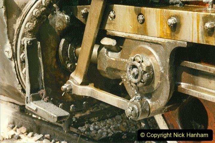 Pakistan and China 1996 June. (237) Shizhuishan China Rail Depot. 237