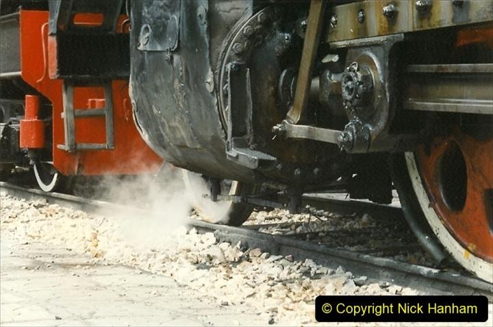 Pakistan and China 1996 June. (240) Shizhuishan China Rail Depot. 240