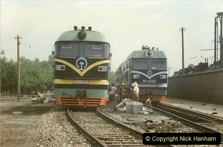 Pakistan and China 1996 June. (245) Shizhuishan China Rail Depot. 245