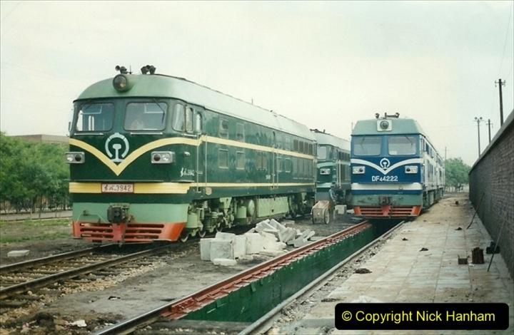 Pakistan and China 1996 June. (247) Shizhuishan China Rail Depot. 247