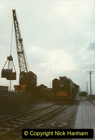 Pakistan and China 1996 June. (253) Shizhuishan China Rail Depot. 253