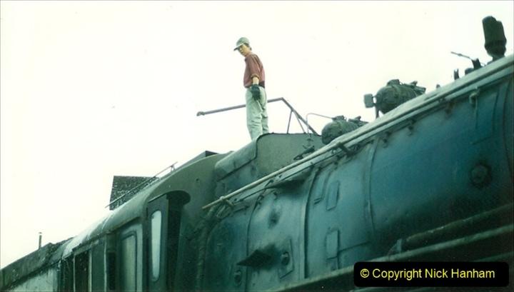 Pakistan and China 1996 June. (254) Shizhuishan China Rail Depot. 254