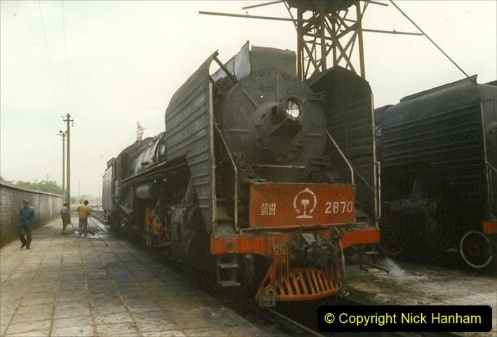Pakistan and China 1996 June. (256) Shizhuishan China Rail Depot. 256