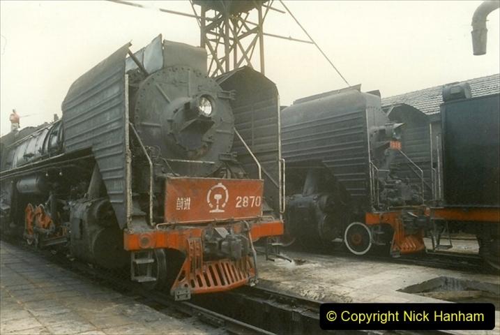 Pakistan and China 1996 June. (257) Shizhuishan China Rail Depot. 257