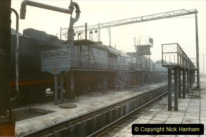 Pakistan and China 1996 June. (258) Shizhuishan China Rail Depot. 258