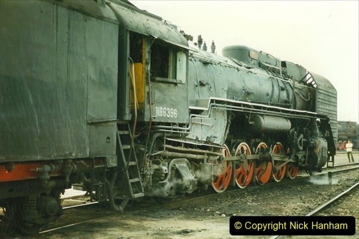 Pakistan and China 1996 June. (259) Shizhuishan China Rail Depot. 259