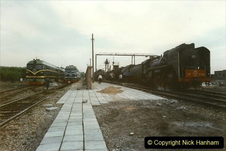 Pakistan and China 1996 June. (262) Shizhuishan China Rail Depot. 262