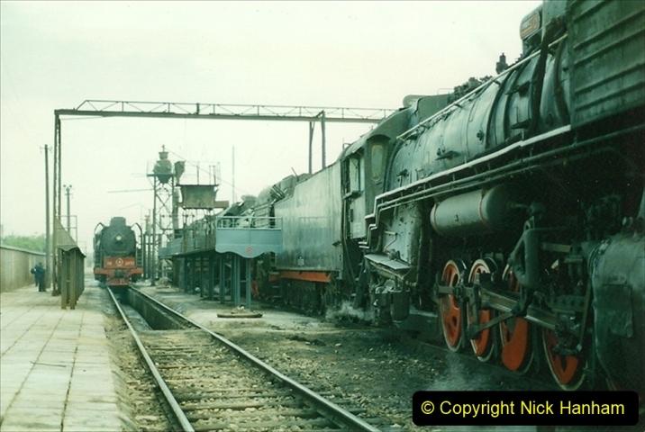 Pakistan and China 1996 June. (263) Shizhuishan China Rail Depot. 263