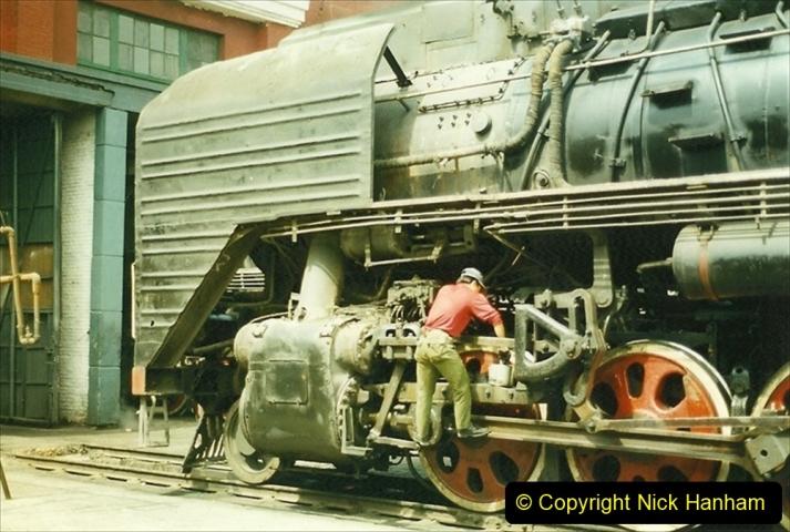 Pakistan and China 1996 June. (264) Shizhuishan China Rail Depot. 264