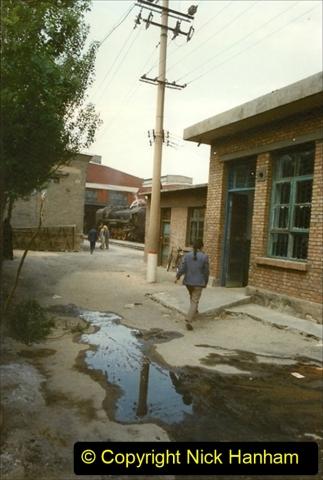 Pakistan and China 1996 June. (268) Shizhuishan China Rail Depot. 268