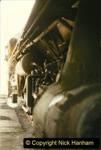 Pakistan and China 1996 June. (269) Shizhuishan China Rail Depot. 269