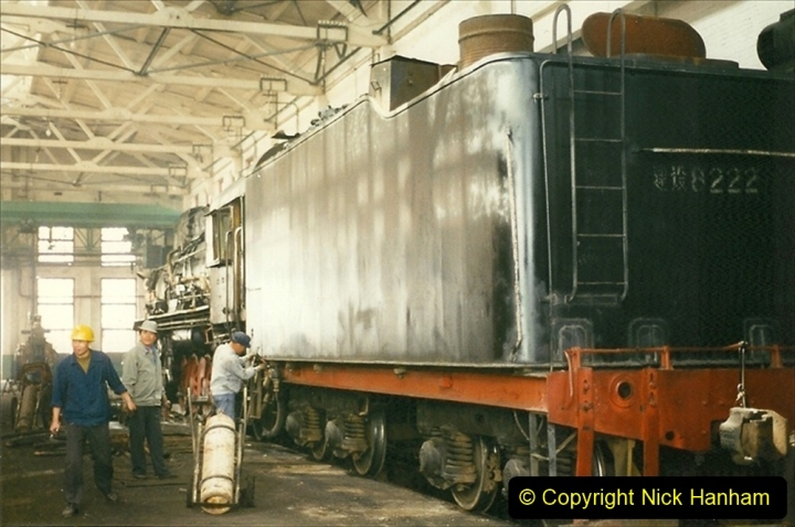 Pakistan and China 1996 June. (270) Shizhuishan China Rail Depot. 270