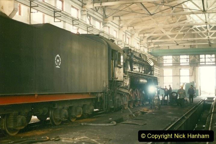 Pakistan and China 1996 June. (271) Shizhuishan China Rail Depot. 271