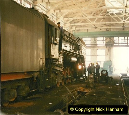 Pakistan and China 1996 June. (272) Shizhuishan China Rail Depot. 272