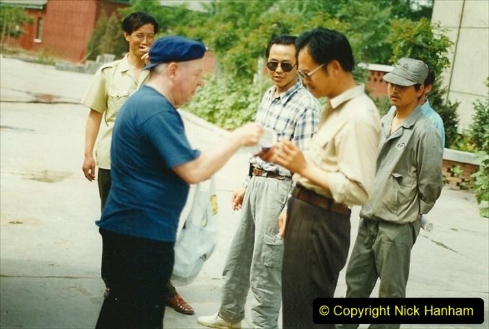 Pakistan and China 1996 June. (273) Shizhuishan China Rail Depot. 273