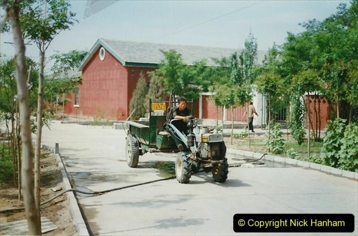 Pakistan and China 1996 June. (274) Shizhuishan China Rail Depot. 274