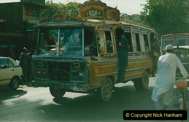 Pakistan and China 1996 June. (28) Karachi. 028