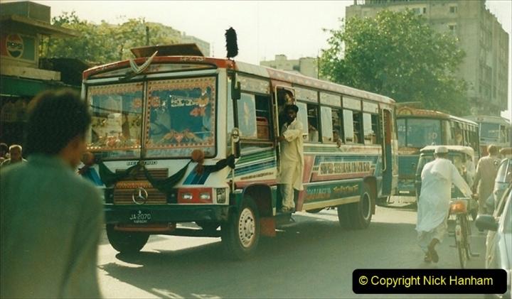 Pakistan and China 1996 June. (29) Karachi. 029