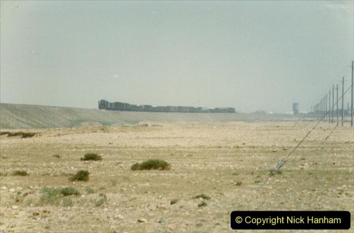 Pakistan and China 1996 June. (290) Linesiding outside Shizuishan. 290