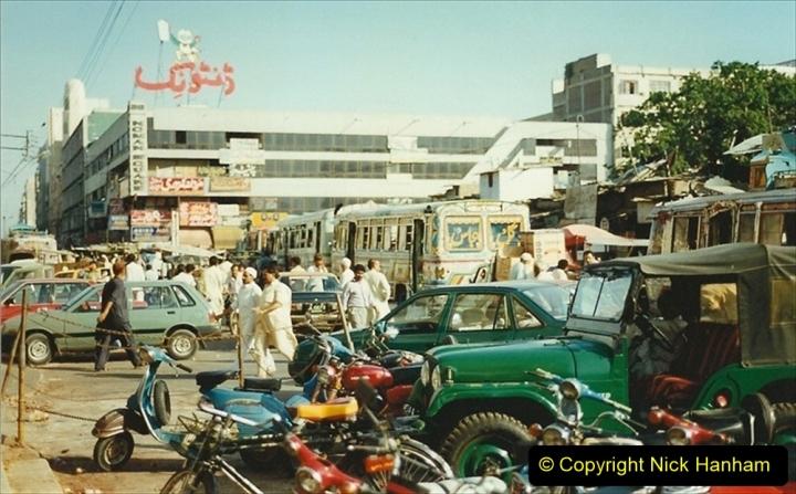 Pakistan and China 1996 June. (30) Karachi. 030