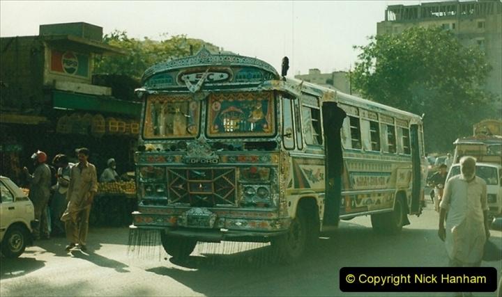 Pakistan and China 1996 June. (32) Karachi. 032