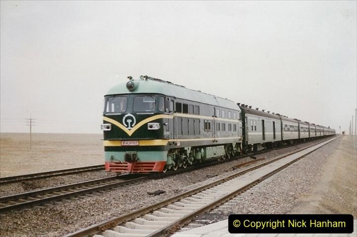 Pakistan and China 1996 June. (323) More linesiding. 323
