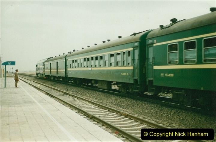 Pakistan and China 1996 June. (324) More linesiding. 324