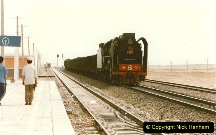 Pakistan and China 1996 June. (330) More linesiding. 330