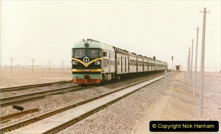 Pakistan and China 1996 June. (335) More linesiding. 335