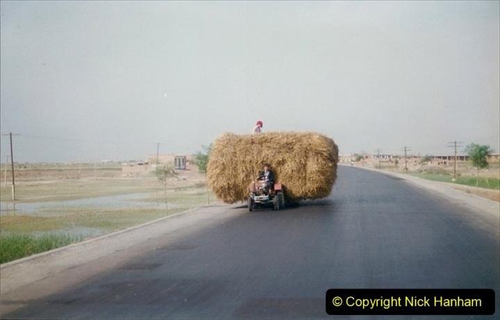 Pakistan and China 1996 June. (336) Rural Shizhuishan and towns. 336