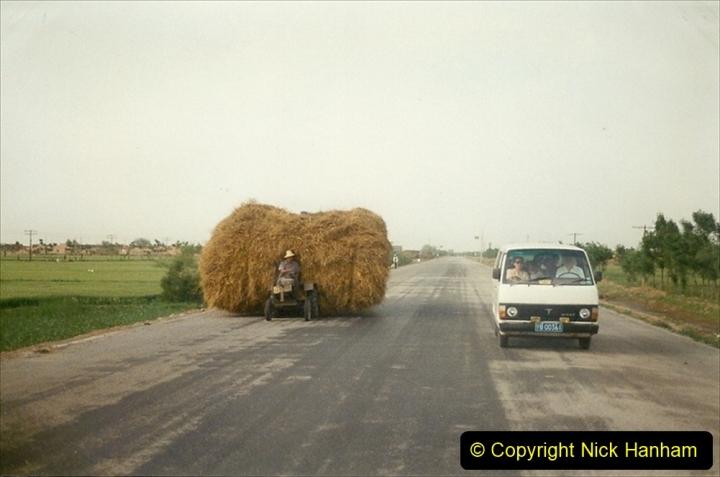 Pakistan and China 1996 June. (337) Rural Shizhuishan and towns. 337
