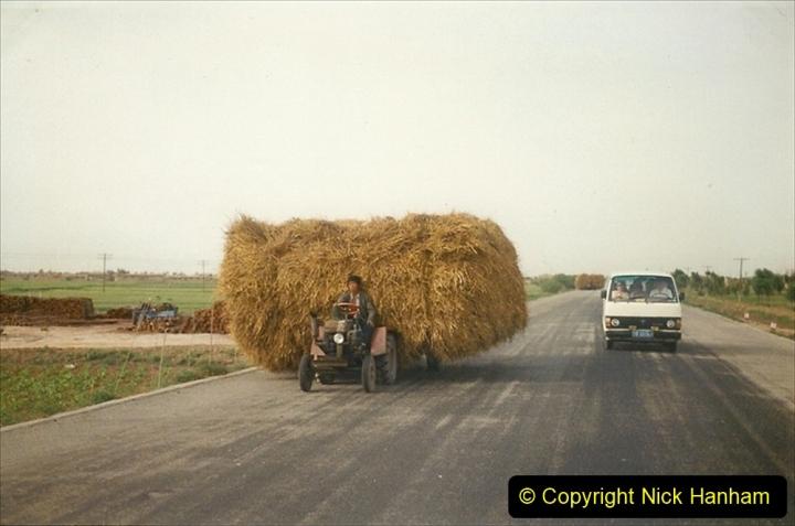 Pakistan and China 1996 June. (338) Rural Shizhuishan and towns. 338