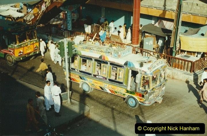 Pakistan and China 1996 June. (34) Karachi. 034