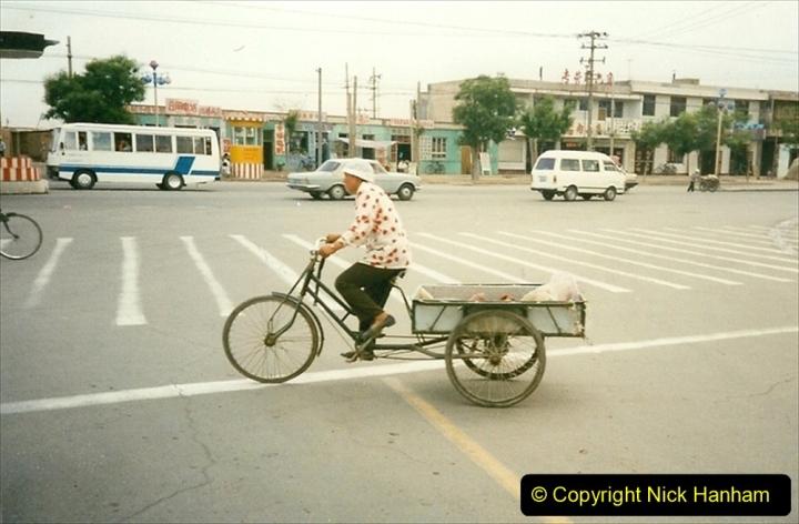 Pakistan and China 1996 June. (340) Rural Shizhuishan and towns. 340