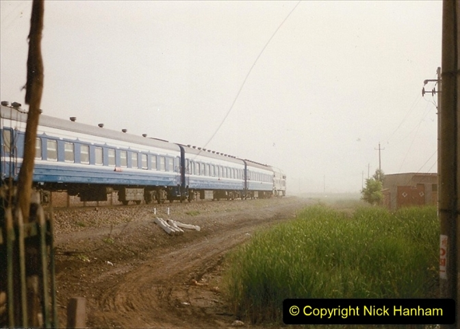 Pakistan and China 1996 June. (342) Level crossing activity. 342