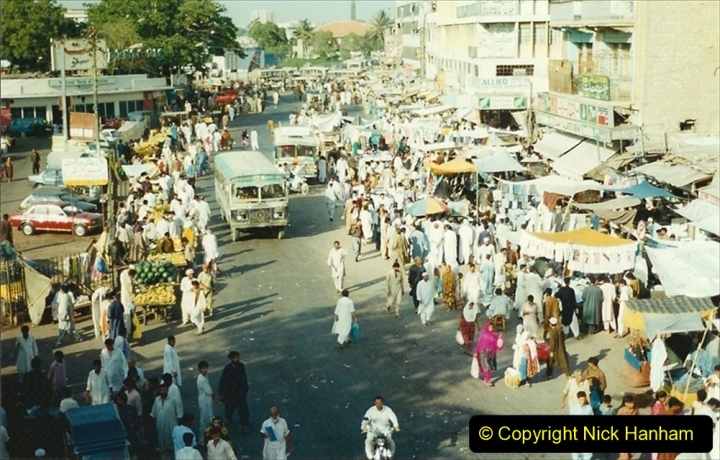 Pakistan and China 1996 June. (35) Karachi. 035