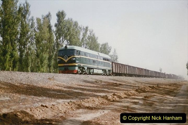 Pakistan and China 1996 June. (351) More linesiding. 351
