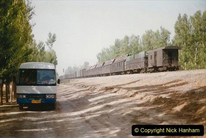 Pakistan and China 1996 June. (354) More linesiding. 354