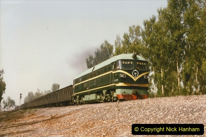 Pakistan and China 1996 June. (355) More linesiding. 355
