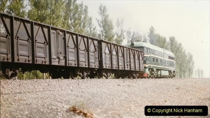Pakistan and China 1996 June. (356) More linesiding. 356
