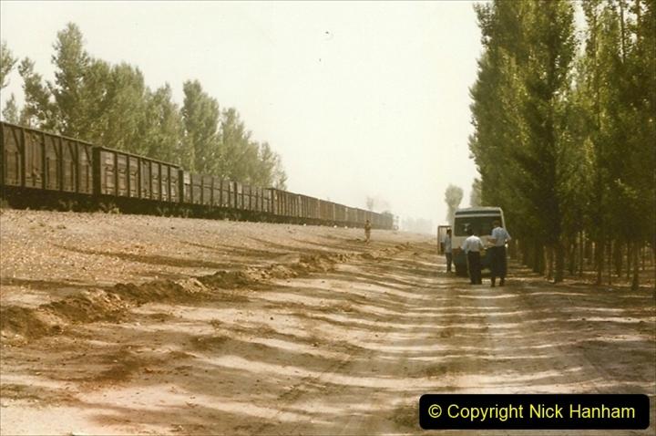 Pakistan and China 1996 June. (357) More linesiding. 357