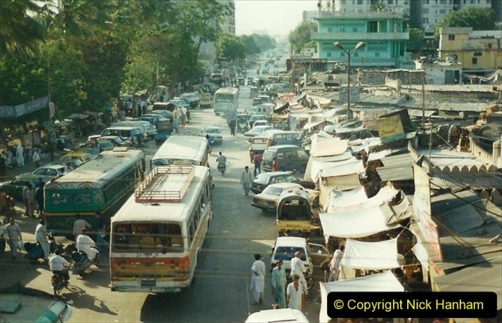 Pakistan and China 1996 June. (36) Karachi. 036