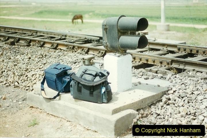 Pakistan and China 1996 June. (374) More linesiding. 374