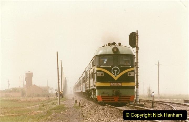 Pakistan and China 1996 June. (376) More linesiding. 376